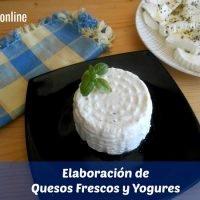 Elaboración de quesos frescos y yogures